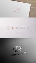 zeross_designさんのニッチな供養業界専門のコンサルティング・広告代理店「ONE WALK」のロゴへの提案