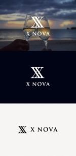 tanaka10さんのホストクラブ 「X NOVA」のロゴへの提案