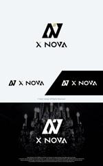 take5-designさんのホストクラブ 「X NOVA」のロゴへの提案