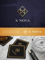 Yusuke1402さんのホストクラブ 「X NOVA」のロゴへの提案