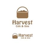 starlight44さんのカフェ、レストラン「Harvest Cafe」のロゴへの提案