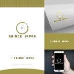fortunaaberさんの外国人労働者対象サービス会社「ブリッジ・ジャパン株式会社」の企業ロゴへの提案