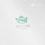 doremidesignさんのカフェ、レストラン「Harvest Cafe」のロゴへの提案
