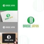 charisabseさんの外国人労働者対象サービス会社「ブリッジ・ジャパン株式会社」の企業ロゴへの提案
