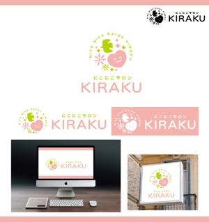 merody0603さんのリラクゼーションサロン  「にこにこサロン KIRAKU」 のロゴへの提案