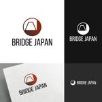 venusableさんの外国人労働者対象サービス会社「ブリッジ・ジャパン株式会社」の企業ロゴへの提案