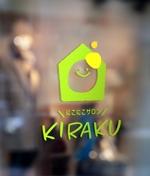 kurumi82さんのリラクゼーションサロン  「にこにこサロン KIRAKU」 のロゴへの提案