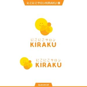 queuecatさんのリラクゼーションサロン  「にこにこサロン KIRAKU」 のロゴへの提案
