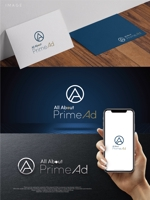 maharo77さんの広告ソリューション「All About PrimeAd」のロゴ への提案