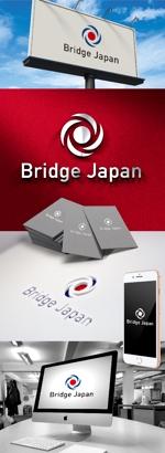 katsu31さんの外国人労働者対象サービス会社「ブリッジ・ジャパン株式会社」の企業ロゴへの提案