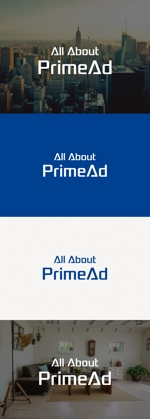 tanaka10さんの広告ソリューション「All About PrimeAd」のロゴ への提案