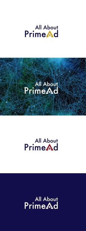 red3841さんの広告ソリューション「All About PrimeAd」のロゴ への提案