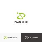 cc110さんのコンサルティング会社の「PLAN SEED」のロゴデザインへの提案