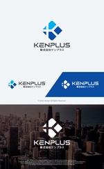 take5-designさんの建設会社 防水工事「ケンプラス」のロゴへの提案