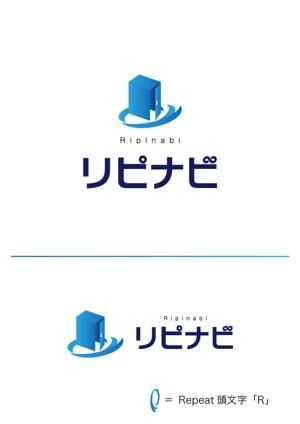 toshimi555さんの店舗集客アプリ「リピナビ」のロゴ (当選者確定します)への提案