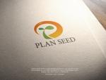 NJONESさんのコンサルティング会社の「PLAN SEED」のロゴデザインへの提案