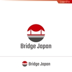 fs8156さんの外国人労働者対象サービス会社「ブリッジ・ジャパン株式会社」の企業ロゴへの提案