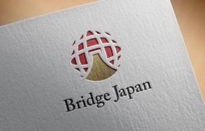 FISHERMANさんの外国人労働者対象サービス会社「ブリッジ・ジャパン株式会社」の企業ロゴへの提案