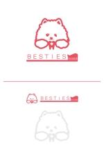 toshimi555さんのペットオーラルケア「 BESTIES」のロゴへの提案