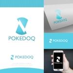 fortunaaberさんの健康管理アプリ「POKEDOQ」のロゴへの提案