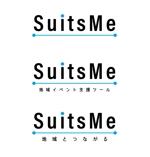 地方創生イベント支援ツール「SuitsMe」のロゴへの提案