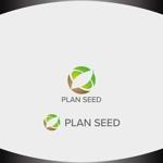 Nakamura__さんのコンサルティング会社の「PLAN SEED」のロゴデザインへの提案