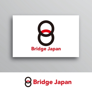 White-designさんの外国人労働者対象サービス会社「ブリッジ・ジャパン株式会社」の企業ロゴへの提案