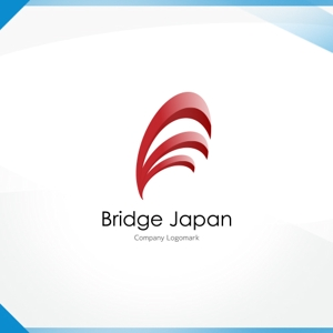 Washiさんの外国人労働者対象サービス会社「ブリッジ・ジャパン株式会社」の企業ロゴへの提案