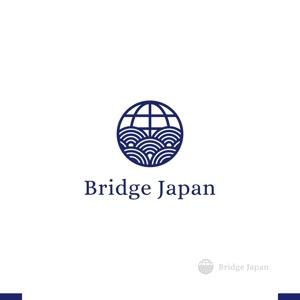 akitakenさんの外国人労働者対象サービス会社「ブリッジ・ジャパン株式会社」の企業ロゴへの提案