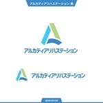 queuecatさんのアルカディアリハステーションのロゴマーク作成(事業所名含む)(商標登録予定なし)への提案