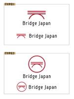 外国人労働者対象サービス会社「ブリッジ・ジャパン株式会社」の企業ロゴへの提案