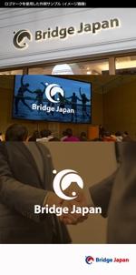kinryuzanさんの外国人労働者対象サービス会社「ブリッジ・ジャパン株式会社」の企業ロゴへの提案
