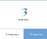 web-pro100さんの外国人労働者対象サービス会社「ブリッジ・ジャパン株式会社」の企業ロゴへの提案