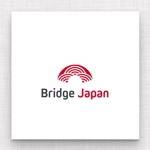 maharo77さんの外国人労働者対象サービス会社「ブリッジ・ジャパン株式会社」の企業ロゴへの提案