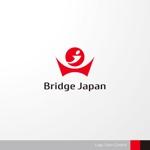 sa_akutsuさんの外国人労働者対象サービス会社「ブリッジ・ジャパン株式会社」の企業ロゴへの提案
