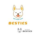 nora-mieさんのペットオーラルケア「 BESTIES」のロゴへの提案