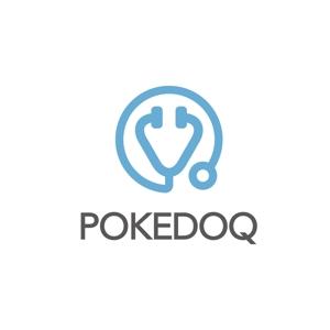 nakaya070さんの健康管理アプリ「POKEDOQ」のロゴへの提案
