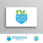White-designさんの健康管理アプリ「POKEDOQ」のロゴへの提案