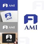 charisabseさんのポイントサイト『AMI』(あみー と読む)のロゴデザインへの提案