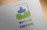 goodluck64さんの健康管理アプリ「POKEDOQ」のロゴへの提案
