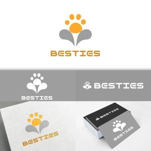 minervaabbeさんのペットオーラルケア「 BESTIES」のロゴへの提案