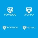 headdip7さんの健康管理アプリ「POKEDOQ」のロゴへの提案