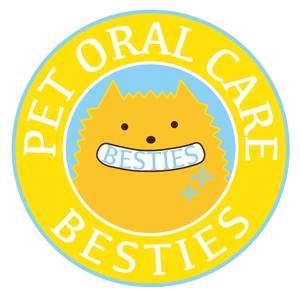 milutanさんのペットオーラルケア「 BESTIES」のロゴへの提案