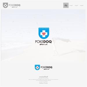 onesizefitsallさんの健康管理アプリ「POKEDOQ」のロゴへの提案