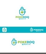 Doing1248さんの健康管理アプリ「POKEDOQ」のロゴへの提案