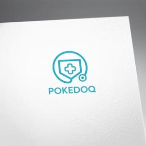 fujiseyooさんの健康管理アプリ「POKEDOQ」のロゴへの提案