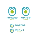 saki8さんの健康管理アプリ「POKEDOQ」のロゴへの提案
