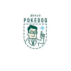 atariさんの健康管理アプリ「POKEDOQ」のロゴへの提案