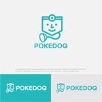 drkigawaさんの健康管理アプリ「POKEDOQ」のロゴへの提案