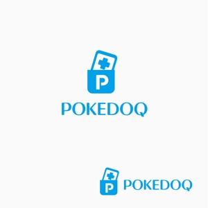 atomgraさんの健康管理アプリ「POKEDOQ」のロゴへの提案